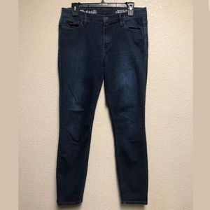 Madewell Skinny Skinny Ankle High Rise Jeans